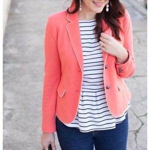 Gap The Academy Coral Blazer